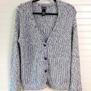 WET SEAL | Chunky Knit V-Neck Cardigan Size Med